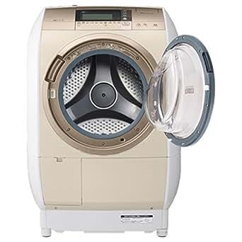 日立 10.0kg ドラム式洗濯乾燥機【右開き】シャンパンHITACHI BD-V9700R-N