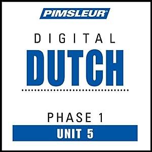 Dutch Phase 1, Unit 05 Audiobook