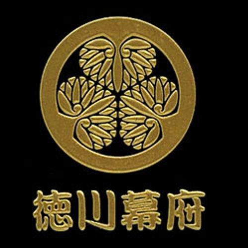 幕末維新紋蒔絵シール 幕末維新紋 徳川幕府「葵の紋」/GD