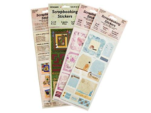 bulk buys Scrapbooking Stickers Assortment - 1
