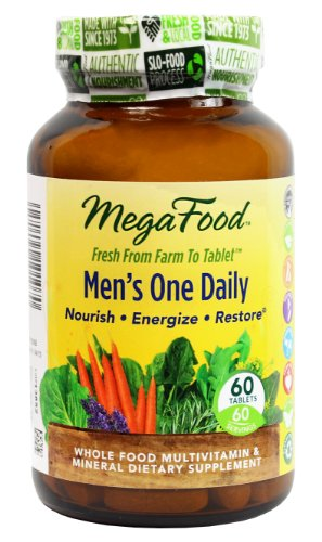 Megafood Men'S One Daily Tablets, 60 Count