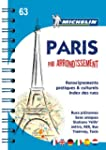 Plan de Paris par arrondissement spirale