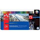 Caran d'Ache Classic Neocolor II Water-Soluble Pastels, 126 Colors and Accessories