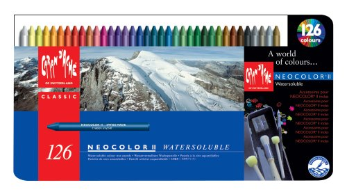 Caran D'ache Neocolor II Crayons (Pack of 126)