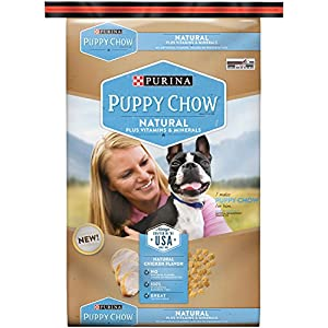 Purina Puppy Chow Dry Dog Food,Natural Plus Vitamin and Minerals, 30-Pound Bag, Pack of 1