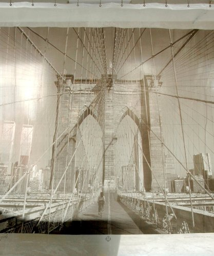 Brooklyn Bridge New York City Shower Curtain