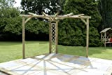 M&M Timber Ltd Kinlet Corner Pergola