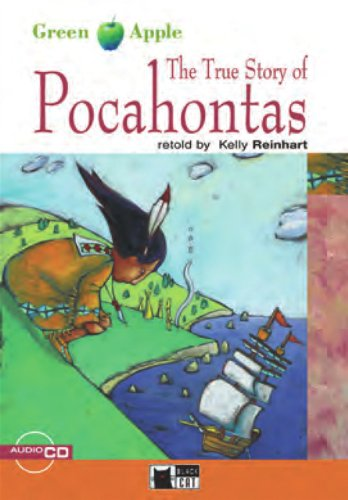 The True Story of Pocahontas - Buch mit Audio-CD (Black Cat Green Apple - Step 1), Buch