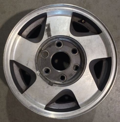 16 IN 92-00 CHEVY SILVERADO TAHOE GMC SIERRA 1500 OEM ALLOY RIM WHEEL 5015 (Oem Silverado Rims compare prices)