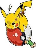 Jungen-Kinder-T-Shirt-Parodie-auf-Pikachu-und-Satoshi-von-Pokemon-Videospiel-777