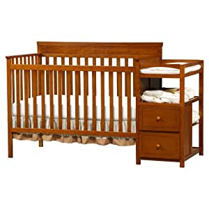 Delta Children's Products Houston Crib N Changer, Spice Cinnamon (Discontinued by Manufacturer)
