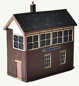Scenix Model Railway Signal Box - OO Gauge