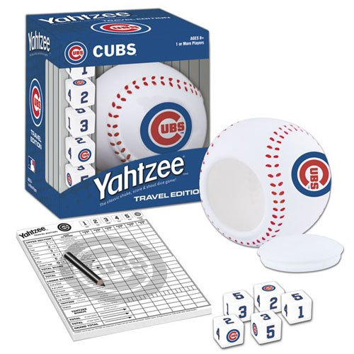 YAHTZEE®: Chicago Cubs Travel Edition at Amazon.com