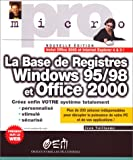 echange, troc Vuillaume - Base de registre Windows 95 et 98