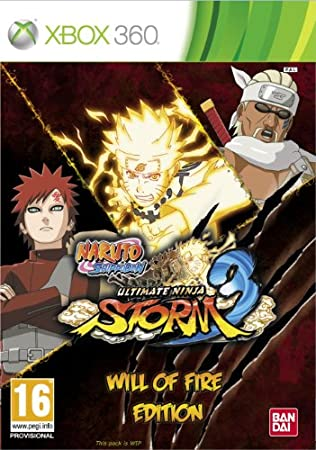 Naruto Shippuden Ultimate Ninja Storm 3 - Will of Fire Edition (Xbox 360)
