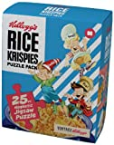 Kellogg's Rice Krispies Vintage Cereal Box Puzzle Magnet Set
