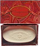 Saponificio Artigianale Fiorentino Italian Pomegranate Red Boxed Soap