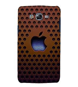 printtech Apple Mesh Back Case Cover for Samsung Galaxy Quattro i8552 / Samsung Galaxy Quattro Win i8552