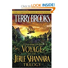 The Voyage of the Jerle Shannara Trilogy by Terry Brooks