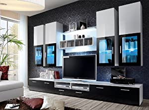 """ LYRA DARK "" / TV CABINETS / TV STANDS / Lounge Living Room Furniture /"