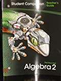 Algebra 2 Student Companion Teachers Guide Prentice Hall