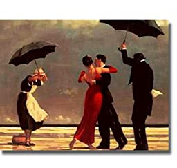 Singing Butler by Jack Vettriano Premium Stretched Canvas (Ready-to-Hang)