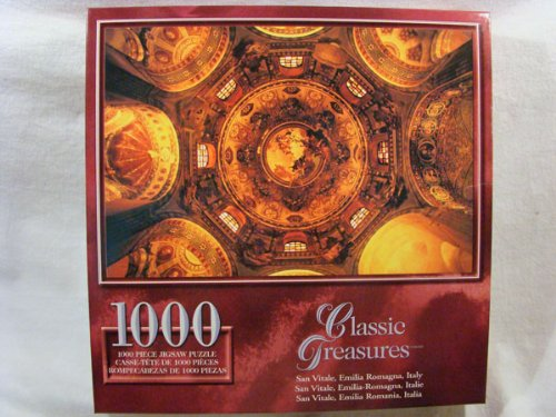 Classic Treasures 1000 Piece Jigsaw Puzzle: San Vitale, Emilia Romagna, Italy