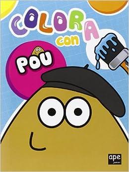 Colora con Pou (Italian) Perfect Paperback – January 1, 2014
