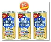 Bar Keepers Friend® Cleanser & Polish: 12 OZ, PK-3