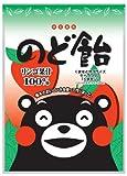 オークラ製菓 くまモンののど飴りんご果汁100% 90g×10袋