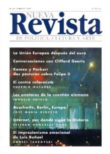 Nueva Revista De Politica Cultura Y Arte