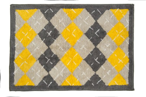 Pam Grace Creations Rug, Argyle Giraffe