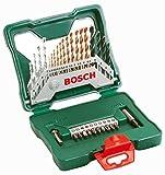Bosch DIY 30tlg. Titanium-Set X-Line zum Bohren und Schrauben in Holz, Stein und Metall