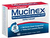 Mucinex Max Strength SE Tablets, 48-Count