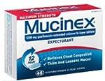Mucinex Max Strength SE Tablets, 48-C...