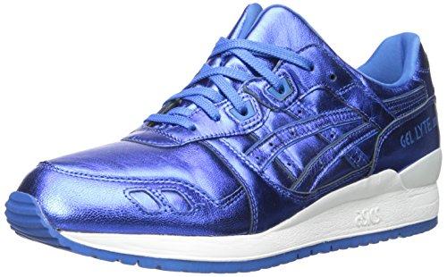 ASICS Women's Gel-Lyte III Retro Running Sneaker, Classic Blue/Classic Blue, 6 M US
