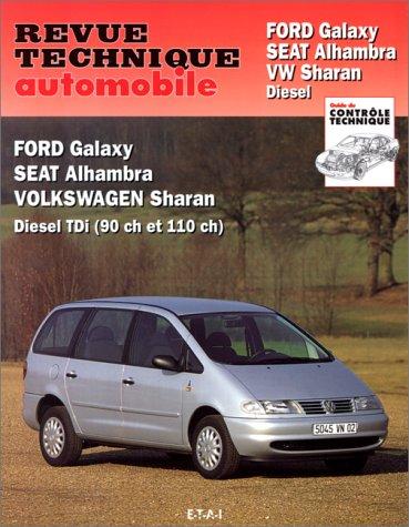 revue technique de l 39 automobile num ro 599 1 ford galaxy seat alhambra vw sharan diesel. Black Bedroom Furniture Sets. Home Design Ideas