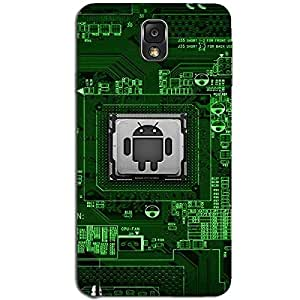 ANDROID PROCESSOR BACK COVER FOR SAMSUNG GALAXY NOTE 3