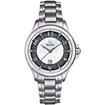 Bulova 96M113 Ladies Adventurer Silver Watch