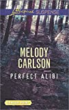 Perfect Alibi (Love Inspired Large Print Suspense)