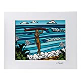 Heather Brown ヘザーブラウン アートプリントサーフストロール HB9131P ハワイ 絵画 インテリア