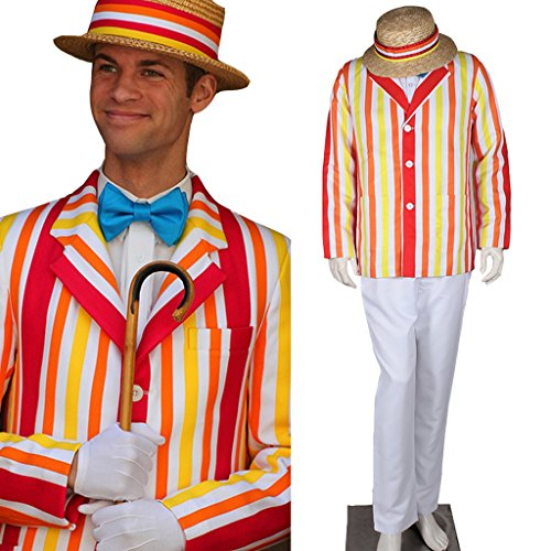 Mary Poppins Bert Cosplay Men's Costume