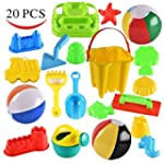 Joyin Toy 20 Pieces Beach Sand Toys S...