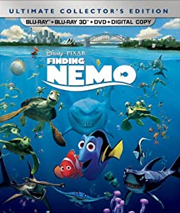 Finding Nemo (Five-Disc Ultimate Collector's Edition: Blu-ray 3D/Blu-ray/DVD + Digital Copy) from Walt Disney Video