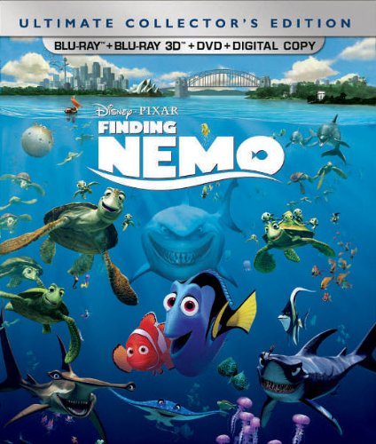 Finding Nemo (Five-Disc Ultimate Collector's Edition: Blu-ray 3D/Blu-ray/DVD + Digital Copy) (Finding Nemo 2 compare prices)