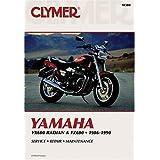 Clymer Yamaha Yx600 Radian & Fz600: 1986-1990