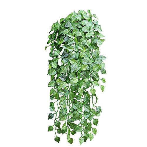 Guirlande lierre 90cm fleur artificielle feuilles de vigne for Guirlande fleurs artificielles
