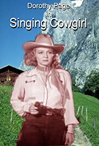 Singing Cowgirl Widescreen TV