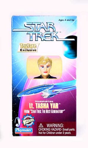 Buy Low Price Wizard Entertainment ToyFare Exclusive Star Trek: The Next Generation Lt. Tasha Yar Action Figure (B000REHIMW)