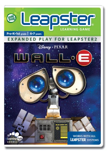 LeapFrog Leapster Learning Game Wall-E